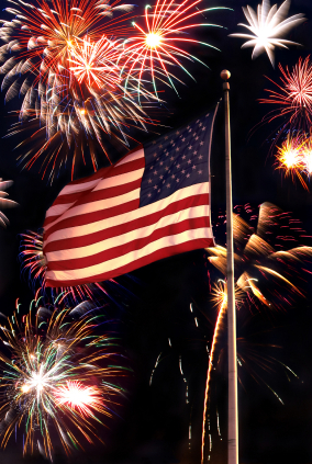 Graphic design inspiration: 4th of July Fireworks