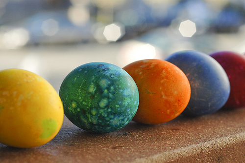 easter, egg, photography