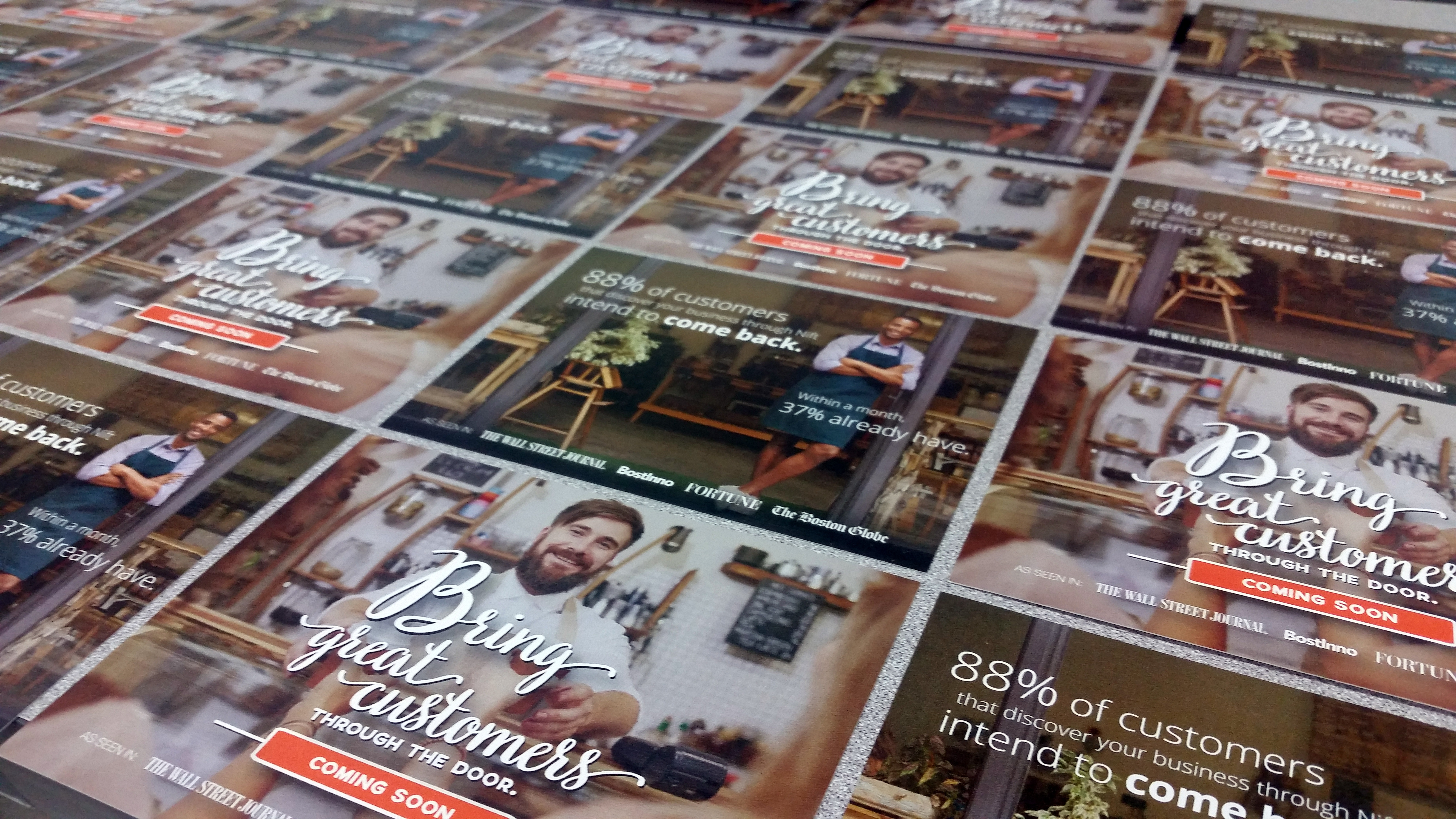 Nift Postcards - that's #WhatsOnPress at TPI Solutions Ink
