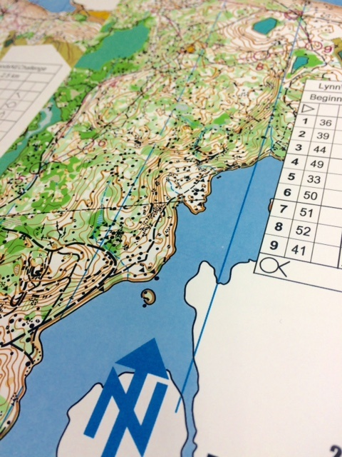 Orienteering Maps, that's #whatsonpress