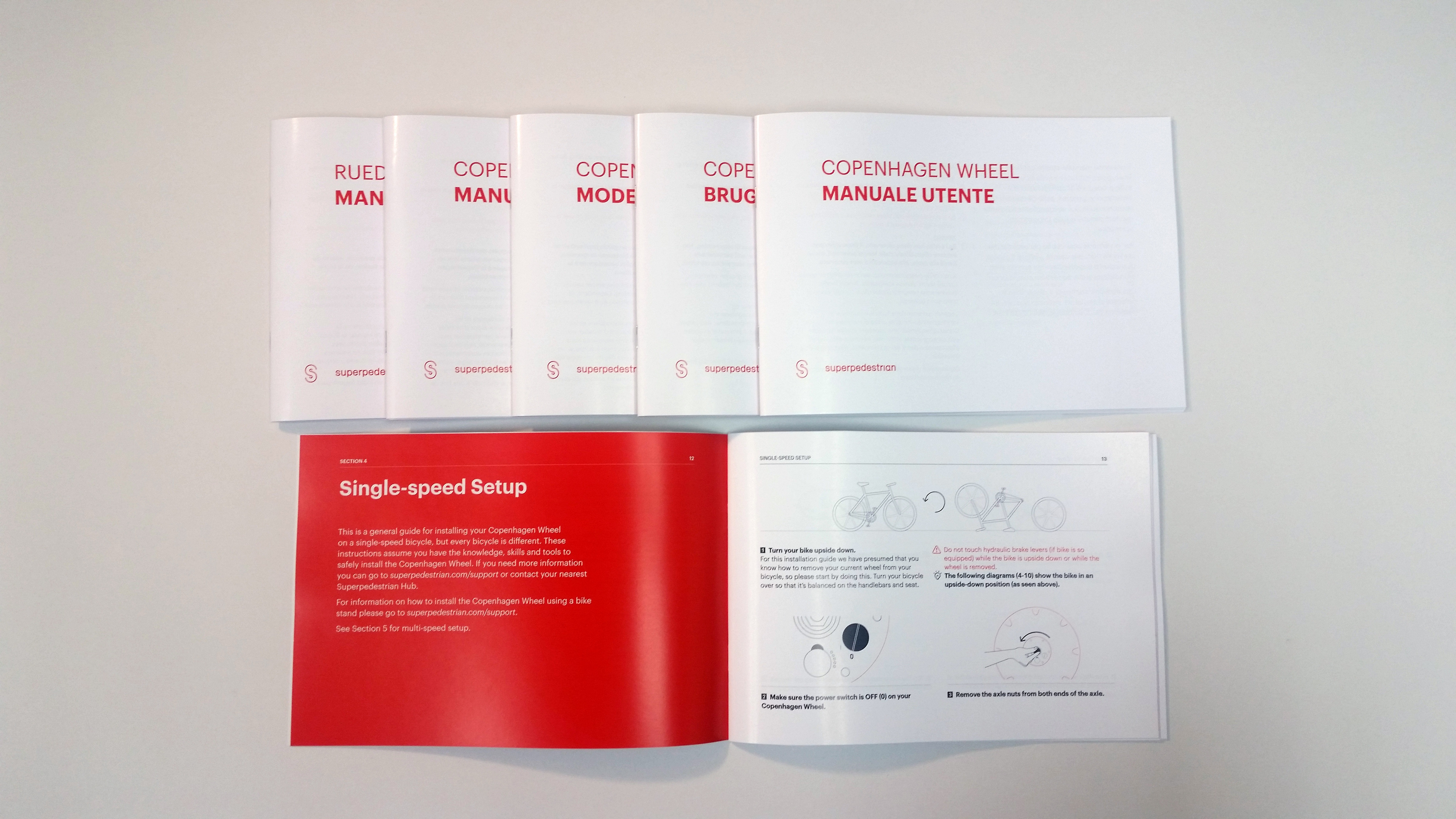 TPI Solutions Ink – #WhatsOnPress – Superpedestrian User Manuals