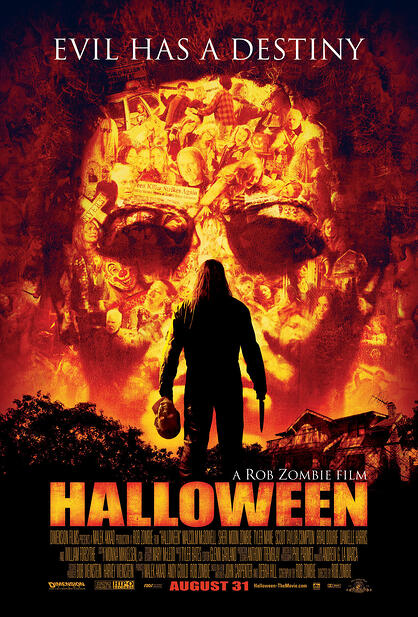 halloween, movie poster, graphic design
