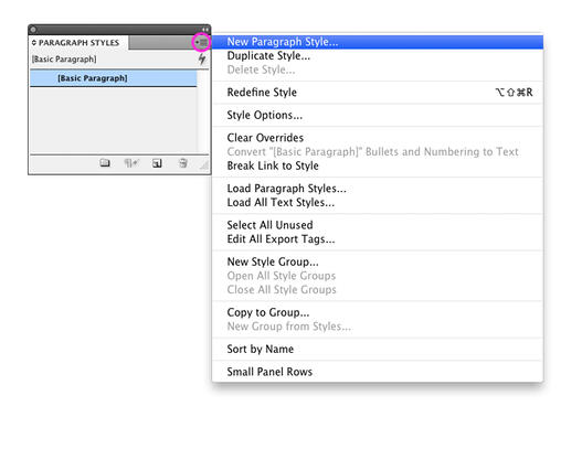 InDesign Tips: How to Use Style Sheets