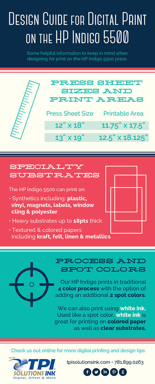 Design Guide for Digital Print on the HP Indigo 5500