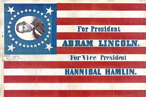Campaign poster - Abraham Lincoln