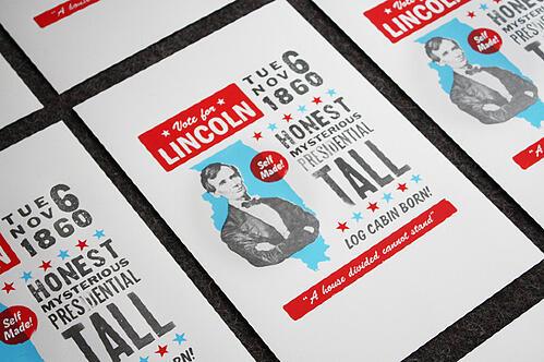Abraham Lincoln, vote, design