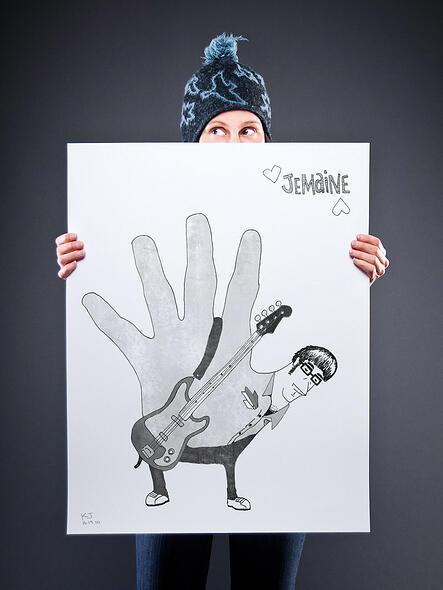 Thanksgiving Hand Turkey Illustrations