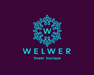 flower logos mom blog