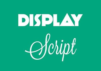 Display vs. Script Typefaces ~ tpisolutionsink.com