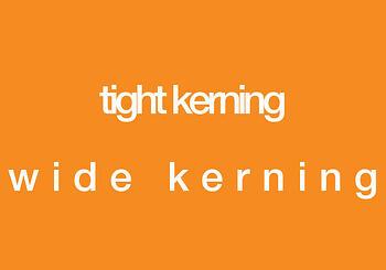 Tight Kerning vs. Wide Kerning ~ tpisolutionsink.com