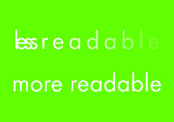 Less Readable vs. More Readable Typefaces ~ tpisolutionsink.com