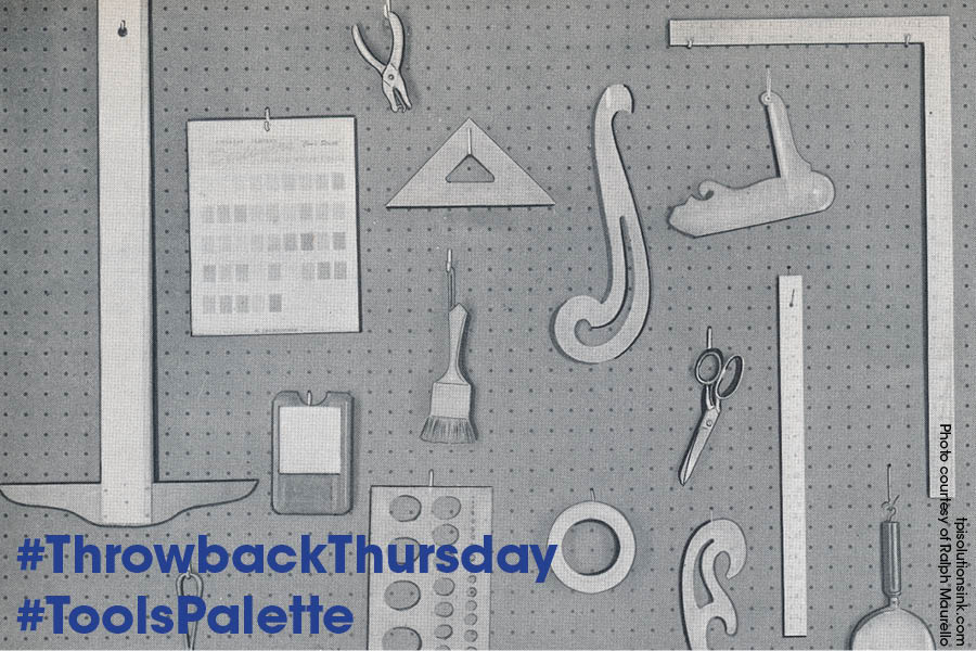 Graphic Designer's Tool Box ~ #throwbackthursday #tbt