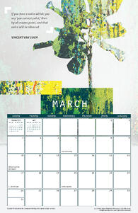 Free March 2019 Printable Wall Calendar with Vincent Van Gogh