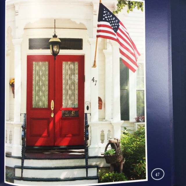 Photographer Arthur Schwartz's Stars & Stripes at 100 Doors, printed by TPI Solutions Ink