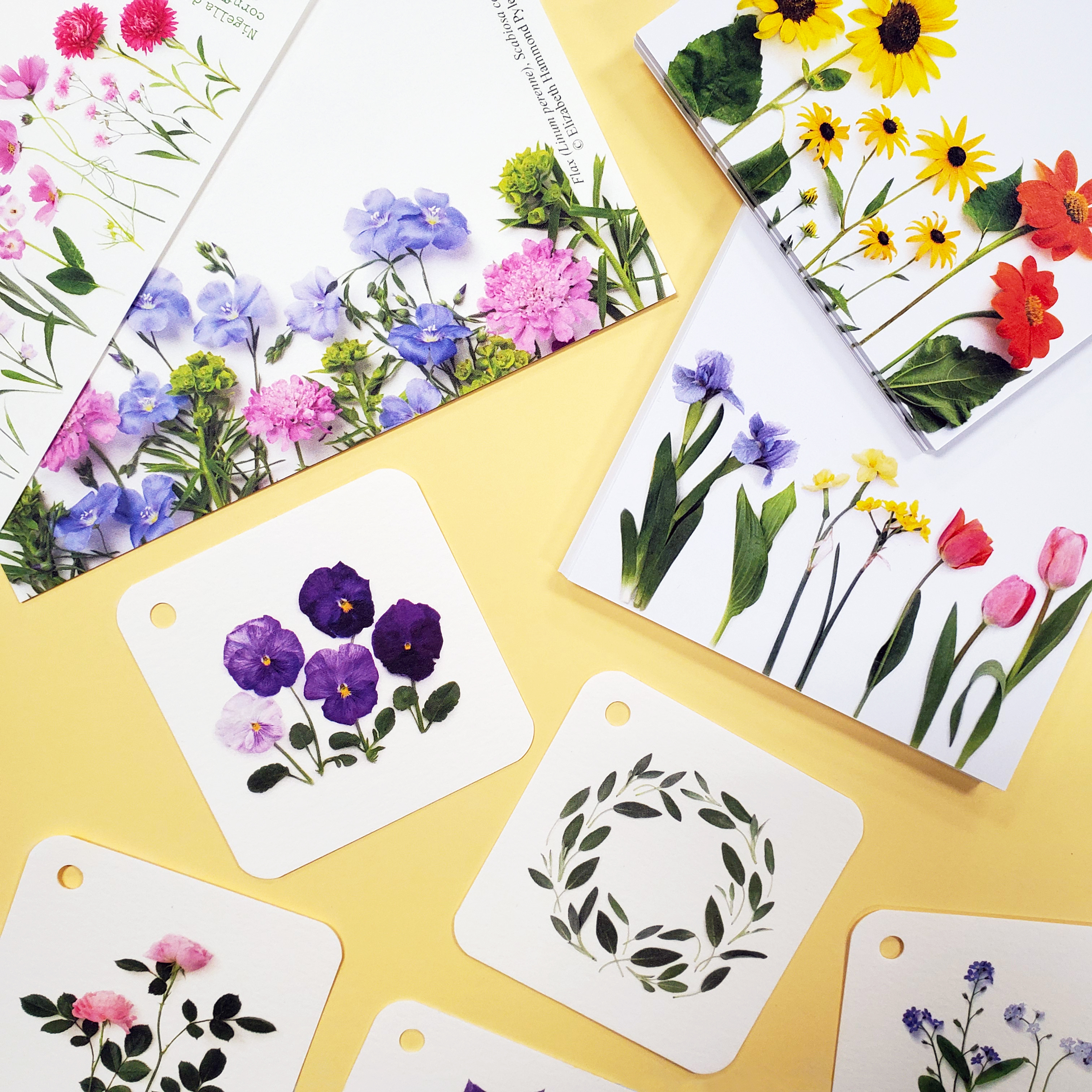 Bottle Branch Flat Cards & Stationery