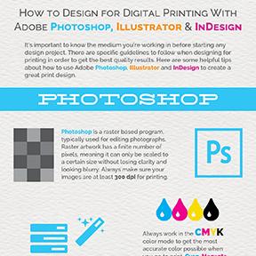 Guide to Designing for Digital Printing using Adobe Design Suite