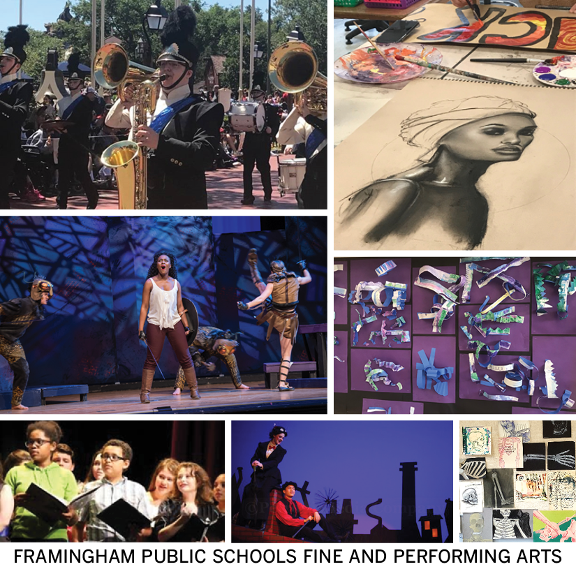 Collage of Performing and Fine Arts at Framingham Public Schools