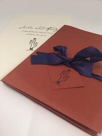 Custom Wedding Invitation Folder at TPI Solutions Ink in Waltham