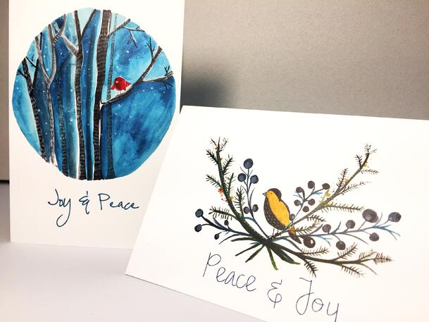Jenny Schneider Greeting Cards printed at TPI Solutions Ink