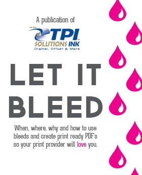 Let it Bleed: Creating Print Ready PDFs with Bleed ebook