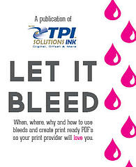 Free ebook on how to Create Print Ready PDFs with Bleed