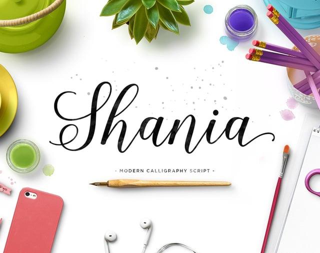 Shania Font