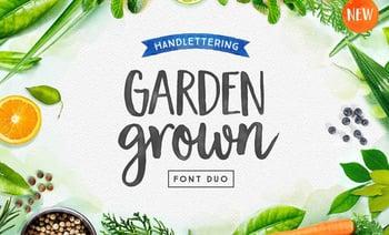 Garden Grown – A Typeface for Spring