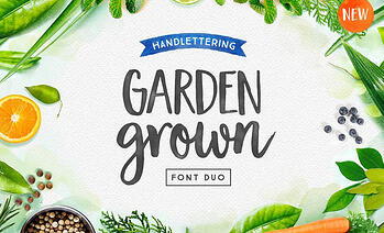 Garden Grown – A Typeface for Spring