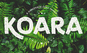 Koara – A Typeface for Spring