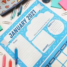 TPI Solutions Ink 2021 Calendar January