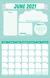 Free 2021 May Motivational Calendar
