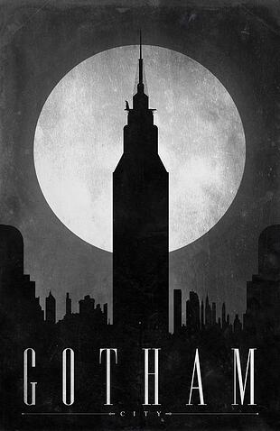 Batman Poster Graphic Design