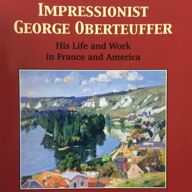 Art book printed at TPI. Impressionist George Oberteuffer.