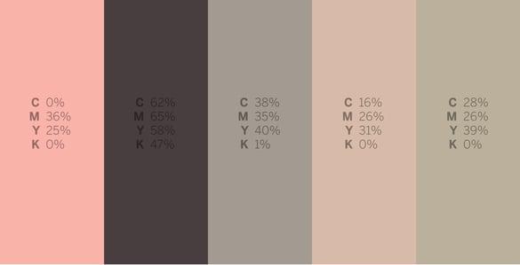 Goblin Shark - #Sharkweek 6 Color Palettes for Graphic Design