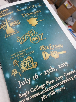 #whatsonpress Weston Drama Workshop 2015 Programs