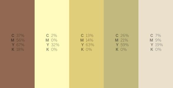 Wobbegong - #Sharkweek 6 Color Palettes for Graphic Design
