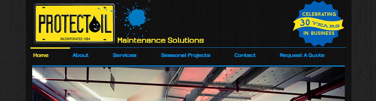 Protectoil Website Design